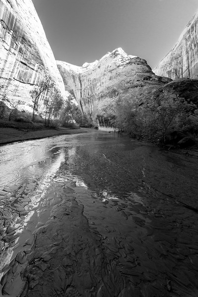 Reflections in Coyote Gulch, Utah