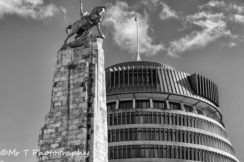 Cenotaph and Beehive Wellington