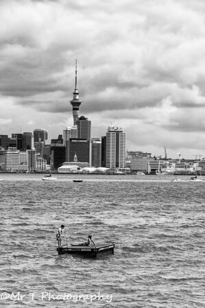 A day out on the Waitemata Harbour