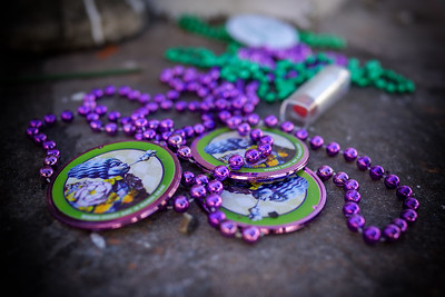 Beads at Saint Louis Cemetery Number One
