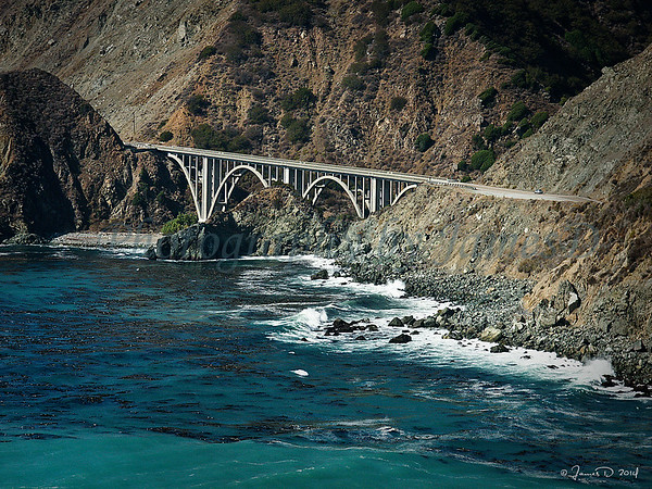 Big Creek Bridge - Big Sur