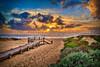 Sunset Grover Beach 20110323(24x16)print
