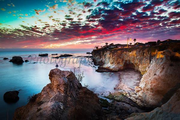 Shell Beach Sunset (20150928)