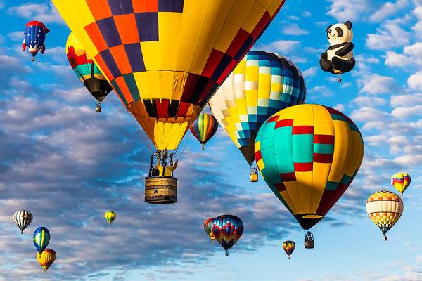 Balloon Fiesta Photo 002_36x24 mat