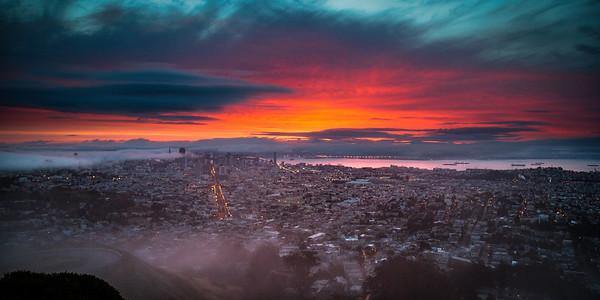 The City at Dawn