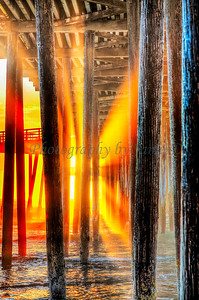 Light Through the Pilings (20160128)