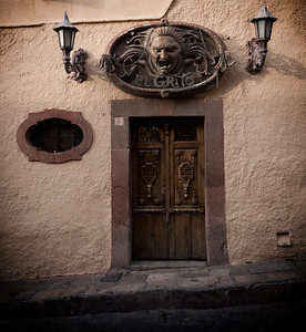 El Grito Bar Door