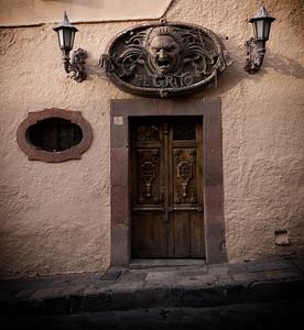 El Grito Bar Door