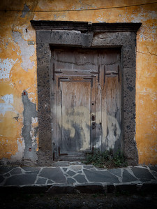 Decrepit Wood Door
