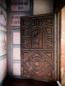 Wood Church Door