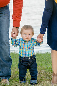 The Elkin's Family portraits at Jacobson Park 10.23.16.