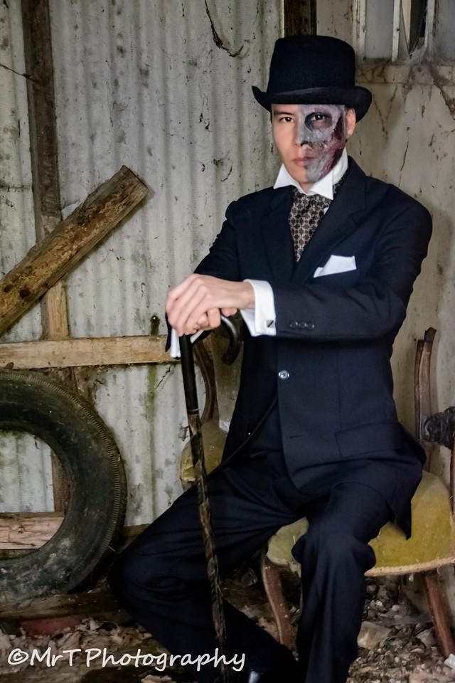 Are you feeling lucky, punk? The inscrutable Raymond Vinten