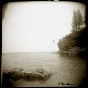 Black Rock Jumpers, Preque Isle, Marquette (Holga)