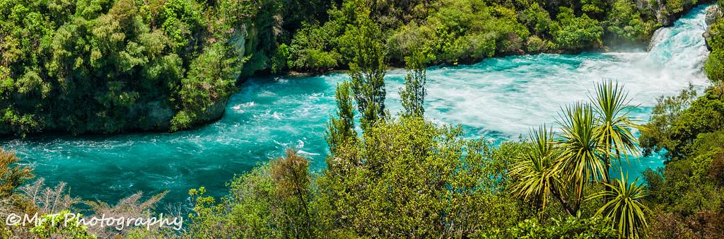 Downstream to the Huka Falls