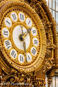Main clock Musée d'Orsay Paris