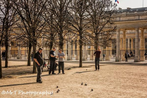 Pétanque Jardin du Palais Royal