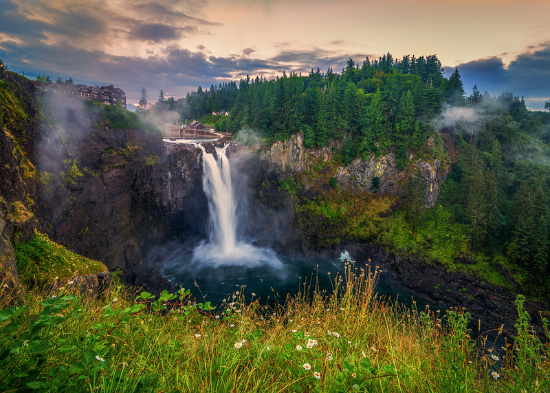 Snoqualmie Falls, Washington State.