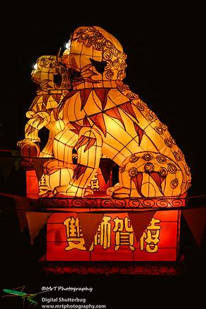 Foo dogs Lantern Festival 2017 Auckland Domain