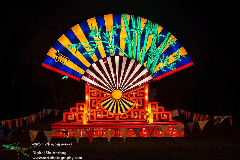 Fan Lantern Festival 2017 Auckland Domain