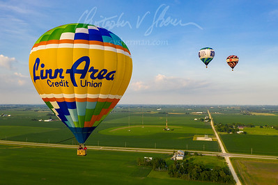 Balloons over Marion