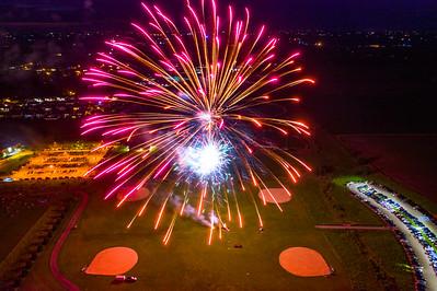 Fireworks Lowe Park 2019
