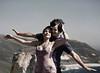 Edge of a Cliff, Couple, Big Sur, CA (Pentax 645)