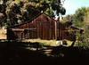 Sun and Shadow, Barn, Daley Ranch, Escondido (Pentax 645)