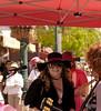 Female Band, Artwalk, India Street, San Diego (Canon 35mm)