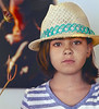 Girl in a Hat, III, Encinitas, CA