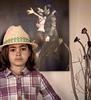 Girl in a Hat, I, Encinitas, CA
