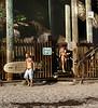 Man with Tattoos, Swamis Beach, Encinitas, CA