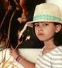 Girl in a Hat, II, Encinitas, CA