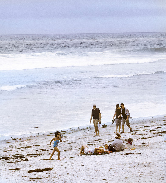 Little Girl, Swami's Beach, Encinitas, CA