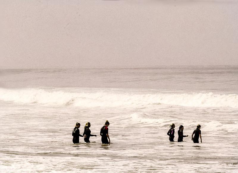 Wet Suits, Swami's Beach, Encinitas, CA