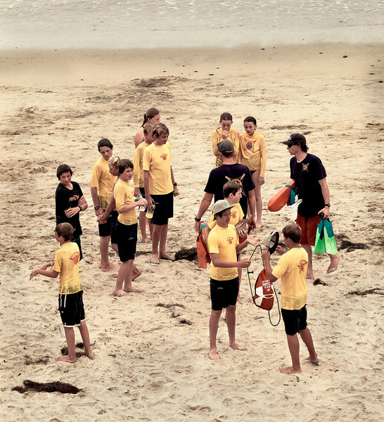 Surf Camp, II, Swami's Beach, Encinitas, CA