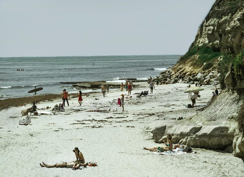The Reef (Noon), Swami's Beach, Encinitas, CA