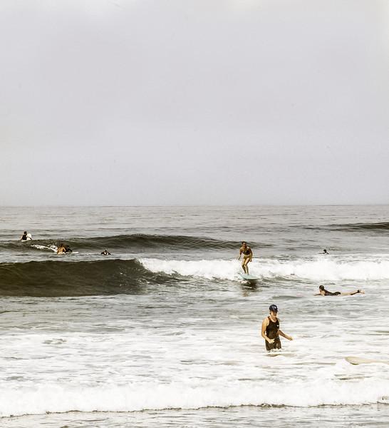 Dark Waves, Swami's Beach, Encinitas, CA