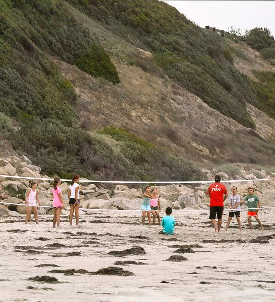 Volleyball, Swami's Beach, Encinitas, CA