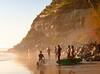 Six Surfers, I, Swami's Beach, Encinitas, CA