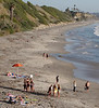 People Talking, Swami's Beach, Encinitas, CA