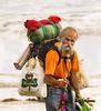 Homeless Man, III, Swami's Beach, Encinitas