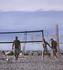 Volleyball, Ponto Beach, Encinitas, CA (Pentax 645)