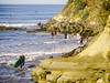 Surfers, Coming and Going, Encinitas, CA