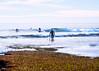 Surfer, Exiting the Water, Encinitas, CA