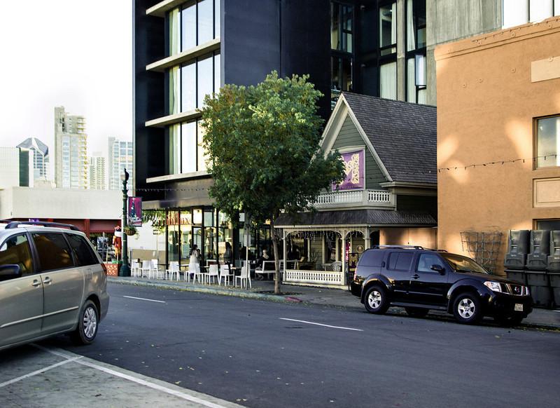Two Cars, India Street, San Diego, CA