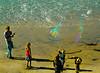 Bubble Man, Swami's Beach, Encinitas, CA