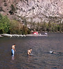 Swimmers, Silver Lake, Eastern Sierras, CA