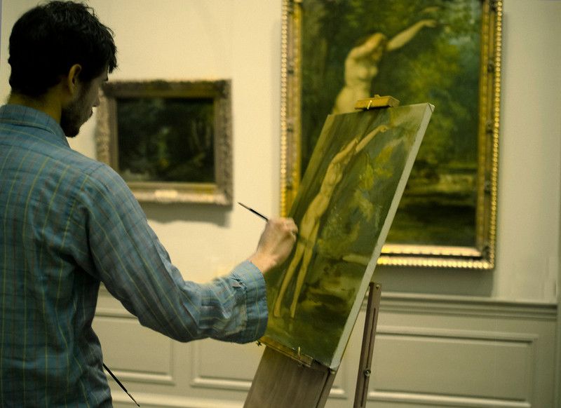 Young Painter, Metropolitan Museum, New York, NY