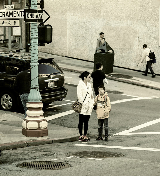 Mother/Son, Chinatown, San Francisco, CA