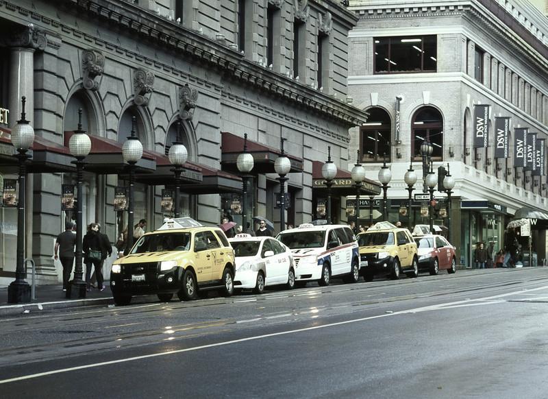 Taxis, I, St. Francis Hotel, San Francisco, CA